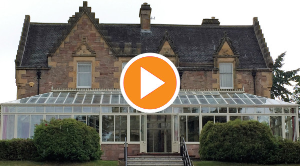 Time lapse video of job at Lochardil Hotel, Inverness